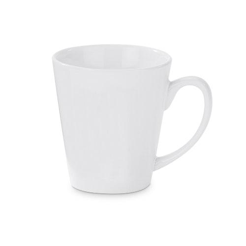 V-formad kaffe mugg