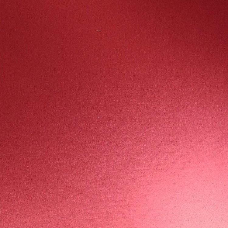 Borstad stål - Röd