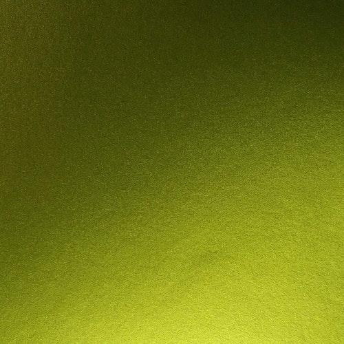 Borstad stål- Lime
