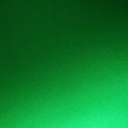 Borstad stål -  Äppelgrön