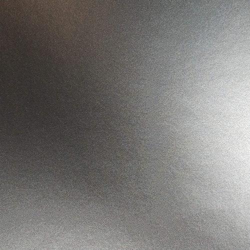 Borstad stål - Silver