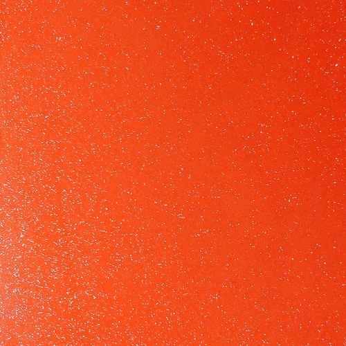 Glitter - Ultra Flou Orange - ark 30x30cm