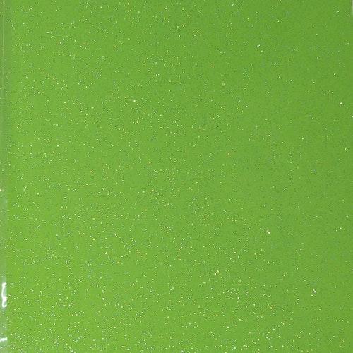 Glitter - Ultra Lime - ark 30x30cm