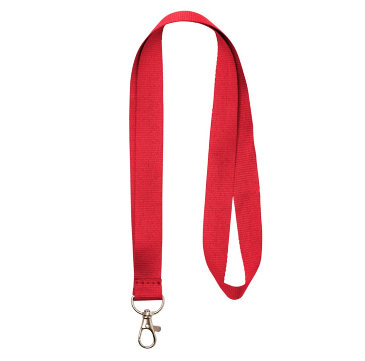 Nyckelband - Lång Röd