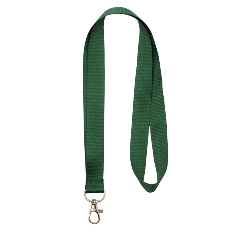 Nyckelband - Lång - Grön