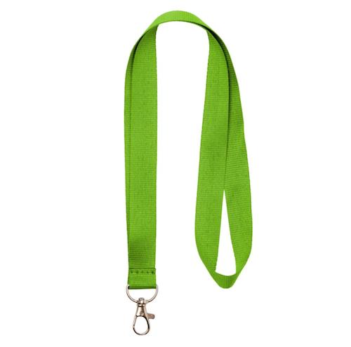 Nyckelband - Lång Limegrön