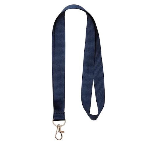 Nyckelband - Lång - Marin