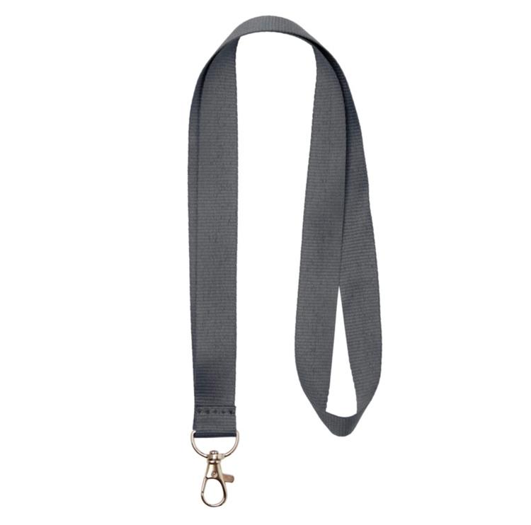 Nyckelband - Lång Grå