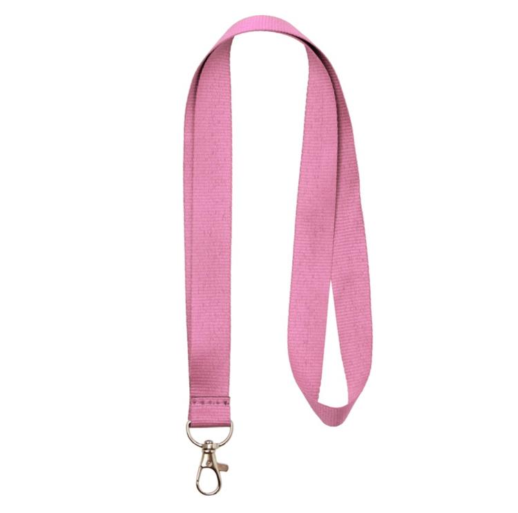 Nyckelband - Lång - Rosa