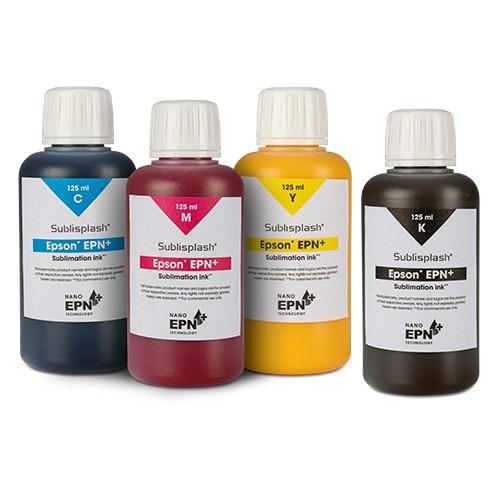 Sublisplash® EPN+     Flaska 125 ml  Kompatibelt med Epson skrivare
