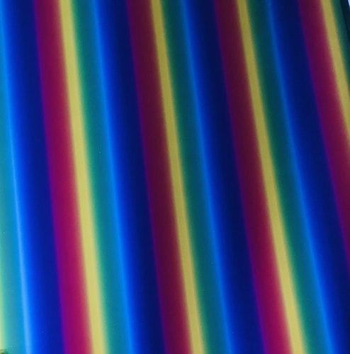 Hot stamping foil - Regnbåge stående ränder