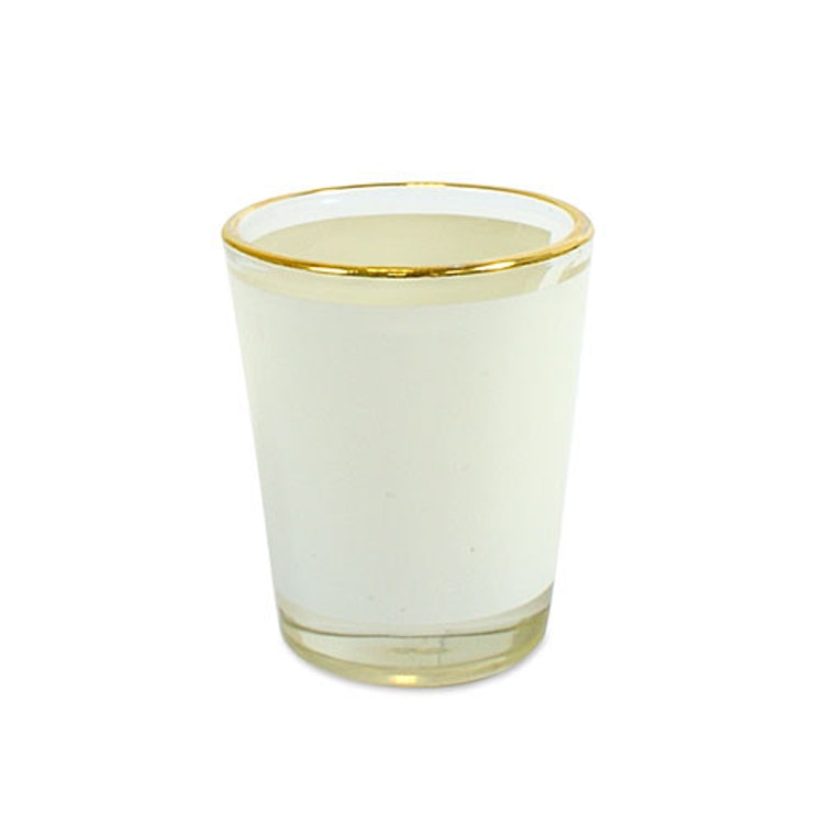 Snapsglas- Små- guldkant