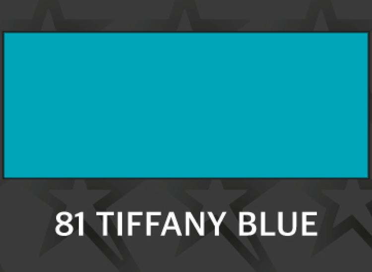 **Premium Tiffanyblå - 1081 Ark 30*50 cm / Rulle