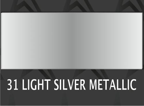 **Premium Light silver metallic - 1031 Ark 30*50 cm