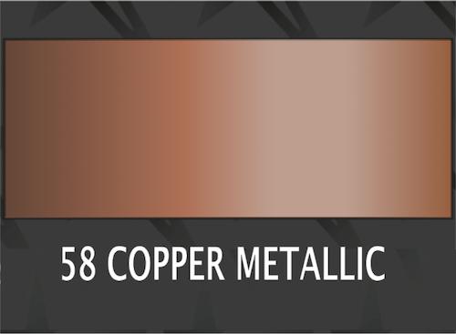 **Premium Copper metallic - 1058 Ark 31*50 cm