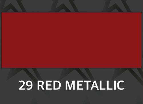 Premium Röd metallic - 1029 Ark 30*50 cm