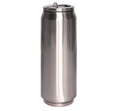 Burktumbler  - silver - Termosmugg