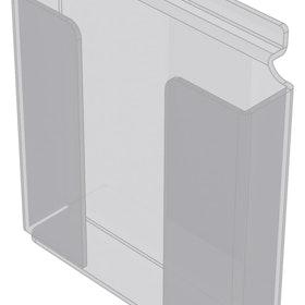 Broschyrhållare A5 till spårpanel EA233
