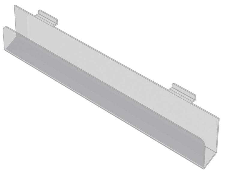 Kortfack i akryl till spårpanel EA206