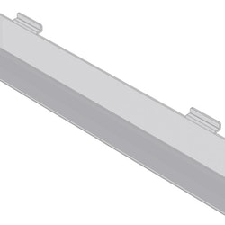 Kortfack i akryl till spårpanel EA207