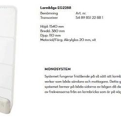 Larmbåge Acrylic 2288 RF 8,2 MHz