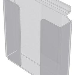 Broschyrhållare A4 till spårpanel EA234