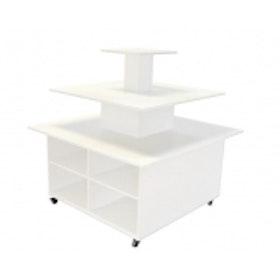 Exponeringsbord 3 vån. 1200 x 1200 mm