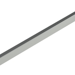 Fronthäng 300 mm till Detaljskena / Spjutskena. Zink.