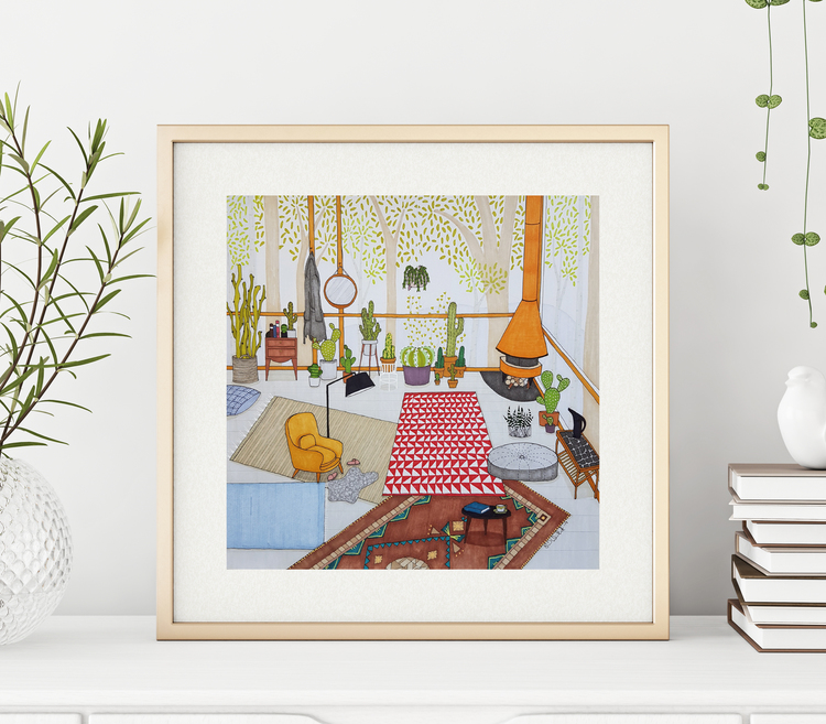 Kaktusrummet - illustration