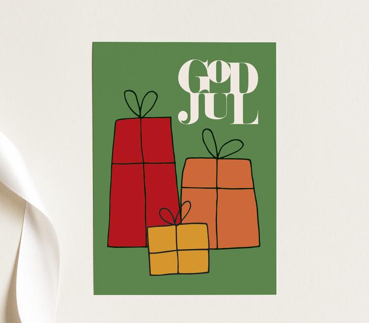 Paket - Julkort
