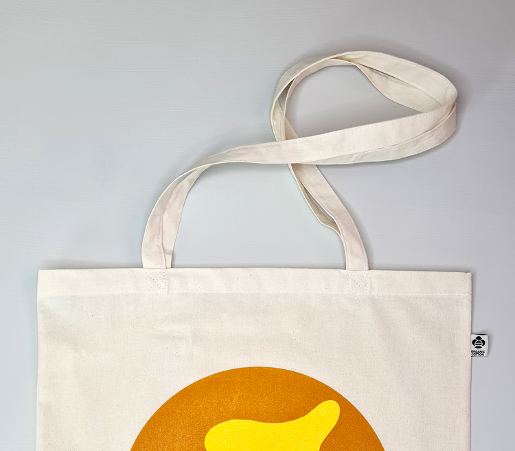 Je suis lá - Tygpåse - Orange & Gul