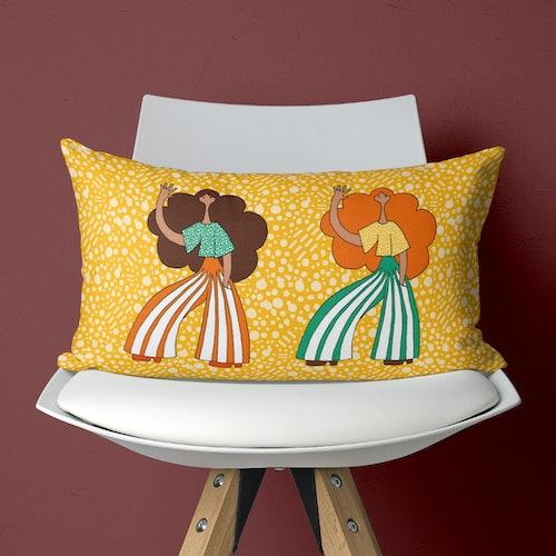 Donnor Yellow - Pillow case