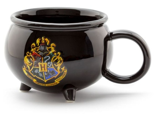 Keramik mugg Harry Potter Kittel 3D alla husens emblem