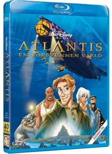 Disneyklassiker 40 Atlantis bluray