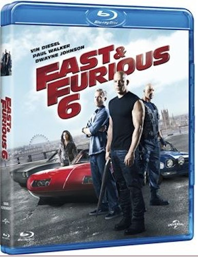Fast and furious 6 bluray