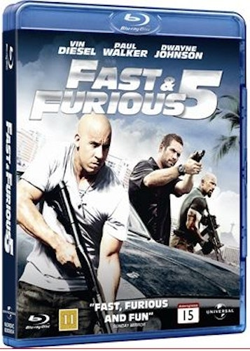 Fast and furious 5 bluray