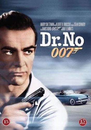 007 James Bond - Dr No/Agent 007 med rätt att döda DVD