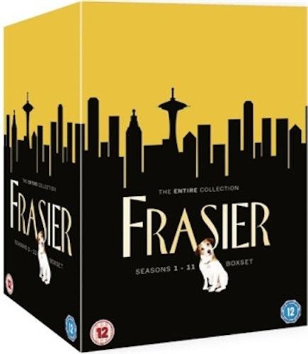 Frasier - Säsong 1-11 Complete Box (44-Disc) DVD