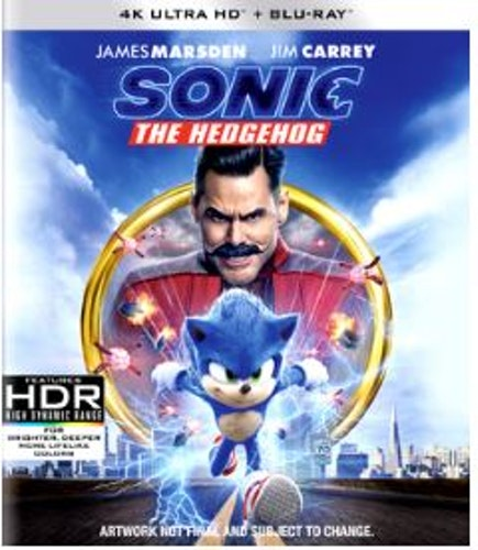 Sonic the Hedgehog - 4K Ultra HD Blu-ray + Blu-ray