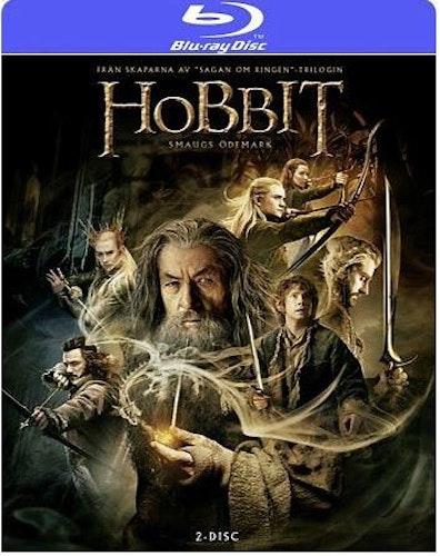 Hobbit: Smaugs Ödemark bluray (import)
