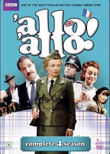 Allo Allo - Säsong 4 (2-disc) DVD