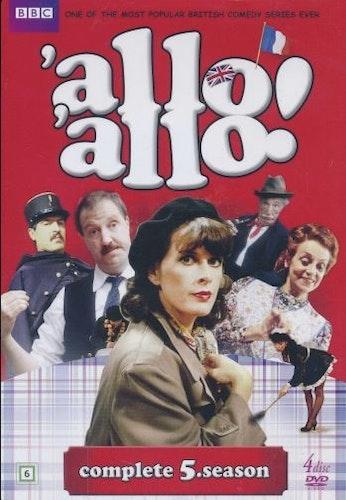Allo Allo - Säsong 5 (6-disc) DVD