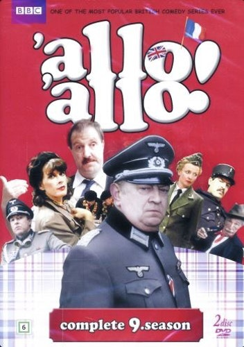 Allo Allo - Säsong 9 (2-disc) DVD
