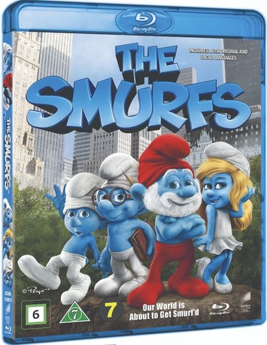 Smurfarna 3D bluray (import)
