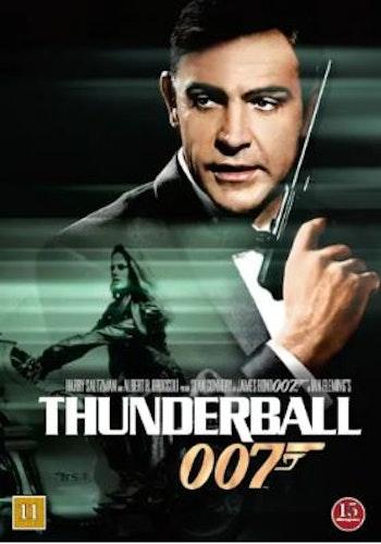 007 James Bond - Thunderball/Åskbollen DVD (beg)