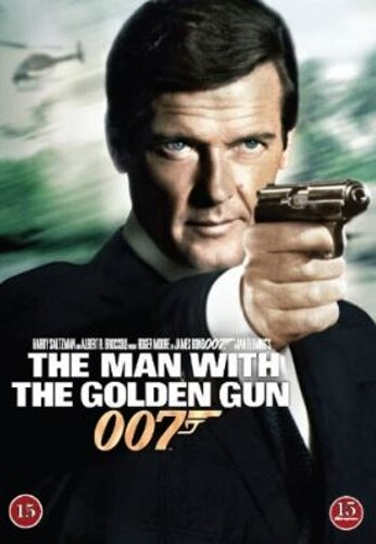 007 James Bond - The man with the golden gun/Mannen med den gyllene pistolen DVD (beg)