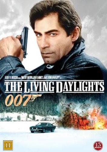 007 James Bond - The living daylights/Iskallt uppdrag DVD (beg)
