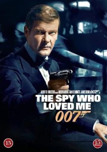 007 James Bond - The spy who loved me/Älskade spion DVD (beg)