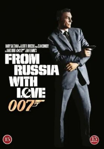 007 James Bond - From Russia with love/Agent 007 ser rött DVD (beg)
