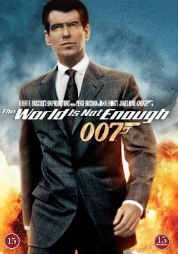 007 James Bond - The world is not enough/Världen räcker inte till DVD (beg)